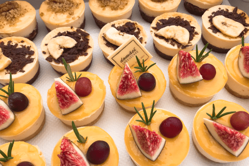 Catering cheesecake